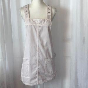 NWT FreePeople We the Free Demin Mini Jumper Dress